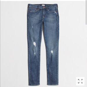 J.CREW distress midrise jeans Size 24